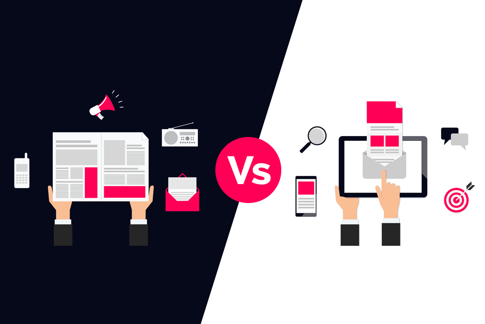 Marketing Digital vs. Marketing Tradicional ¿Cuál es mejor?